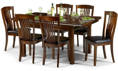Canberra Mahogany Extending Dining Set Sale Now On Your Price Furniture